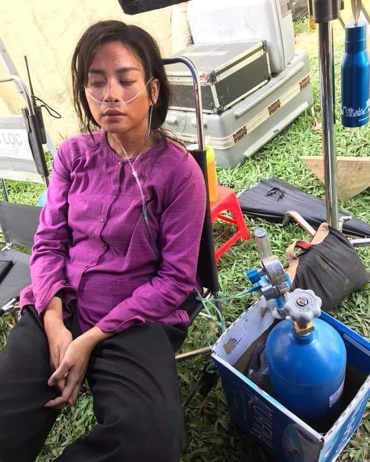 Ngô Thanh Vân bệnh chỉ dám thở oxy trên trường quay Hai Phượng để tiết kiệm chi phí-1