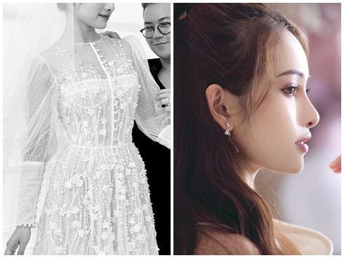 Lộ hình ảnh đầu tiên về chiếc váy giúp Sara Lưu Ngọc Duyên biến thành công chúa trong hôn lễ với Dương Khắc Linh ngày 2/6-2