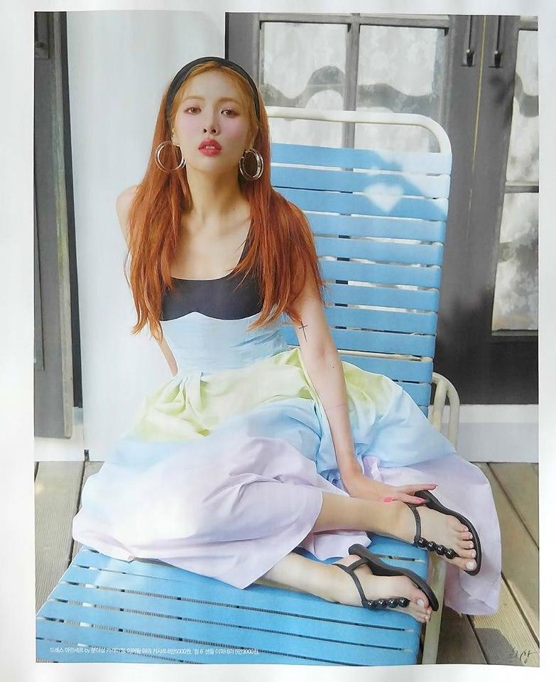 Clip lộ hàng còn chưa hết hot, mỹ nữ sexy HyunA tiếp tục tung thính comeback với loạt hình quyến rũ bức người-1
