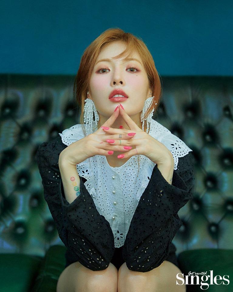 Clip lộ hàng còn chưa hết hot, mỹ nữ sexy HyunA tiếp tục tung thính comeback với loạt hình quyến rũ bức người-4