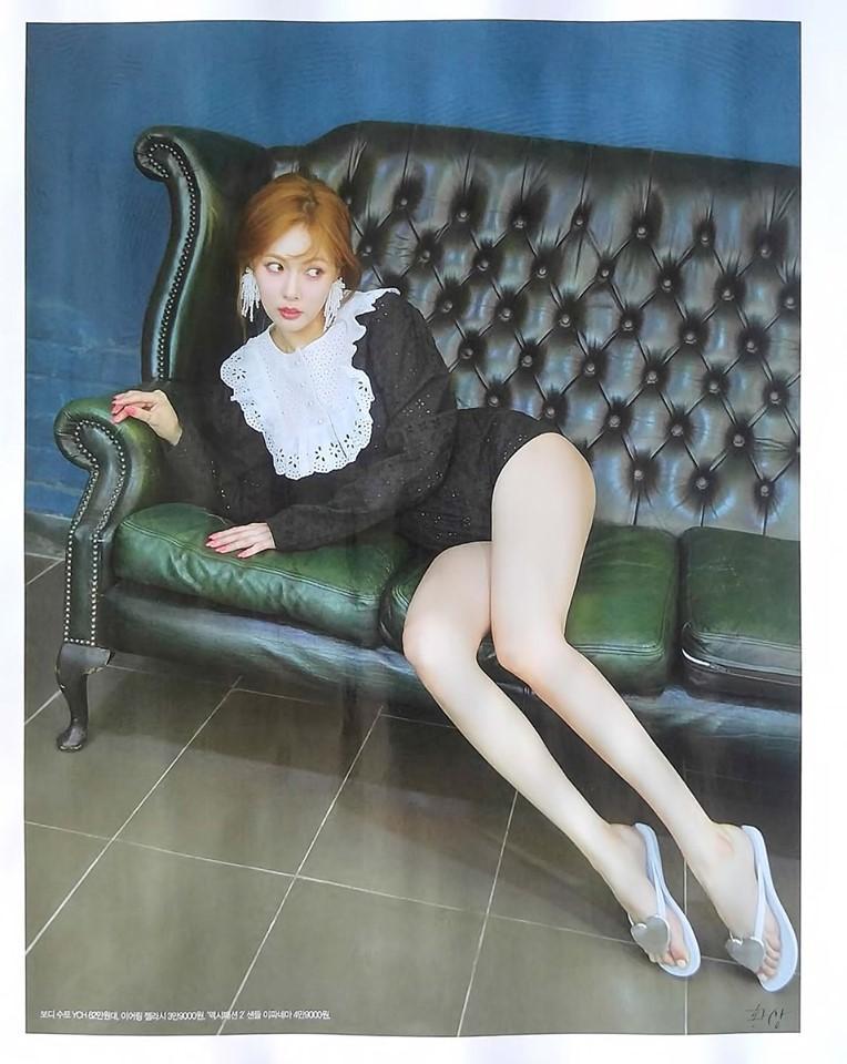 Clip lộ hàng còn chưa hết hot, mỹ nữ sexy HyunA tiếp tục tung thính comeback với loạt hình quyến rũ bức người-9