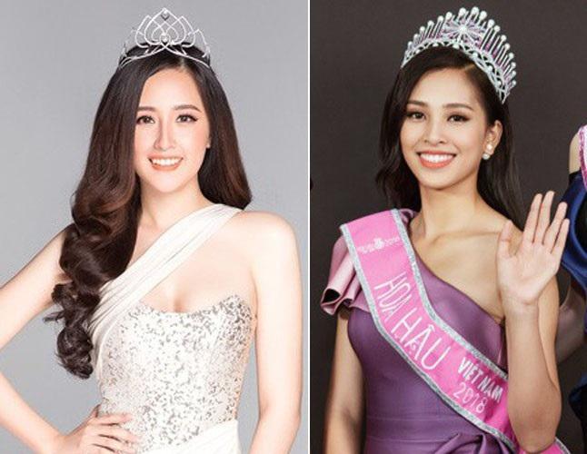 Hết giống Mai Phương Thúy, Trần Tiểu Vy lại gây kinh ngạc với gương mặt hao hao Á hậu Hoàng My-5