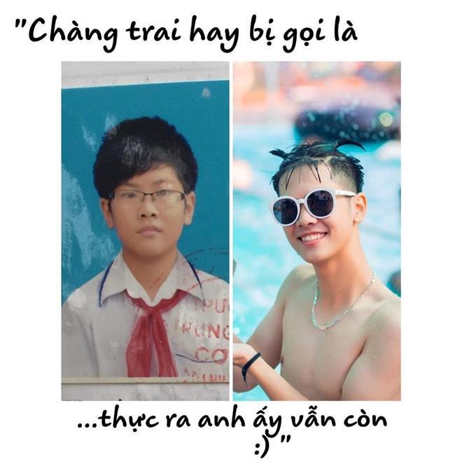 Dân mạng bật cười với bộ ảnh dậy thì thành công của teen Thái Bình-3