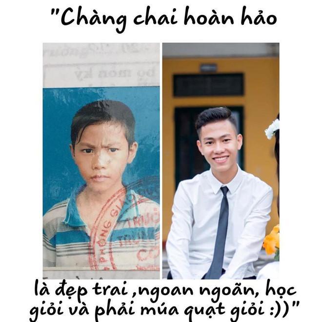 Dân mạng bật cười với bộ ảnh dậy thì thành công của teen Thái Bình-4