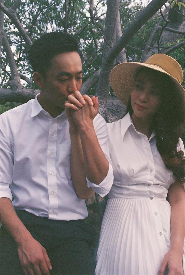 Không cần chờ đợi nữa, Đàm Thu Trang chính thức hé lộ hình ảnh mặc váy cưới đẹp tinh khôi-3
