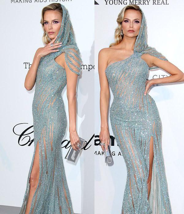 Dàn siêu mẫu thác loạn nhiệt tình trong tiệc thời trang hậu Cannes-7