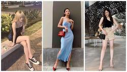 Khoe street style gợi cảm với đầm hai dây, Chi Pu - Thiều Bảo Trâm khiến fan 'xịt máu mũi'