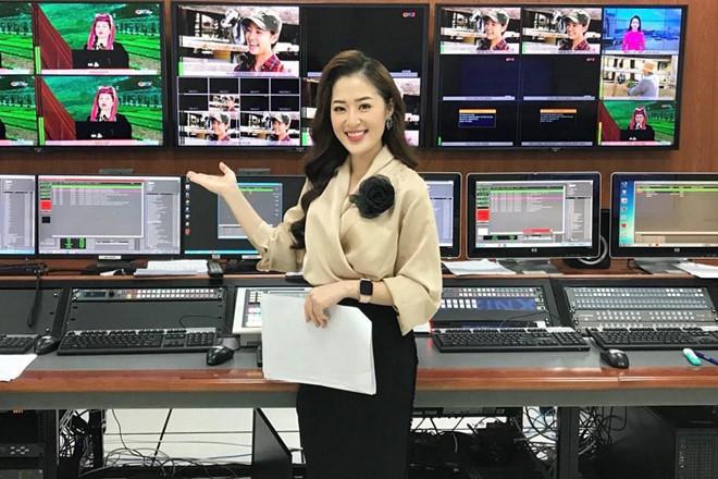 Dân mạng phát sốt với nữ MC thời tiết của truyền hình Quảng Ninh-1