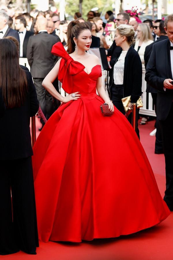 Lý Nhã Kỳ: Mặc hở hang quá lố ở Cannes là tự biến mình thành món giải trí-3