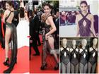 Giữa tâm bão khẩu chiến Lý Nhã Kỳ - Vũ Khắc Tiệp: Ngọc Trinh lại bị 'bóc mẽ' tại Cannes, đầm phản cảm thì được bán fake đầy chợ