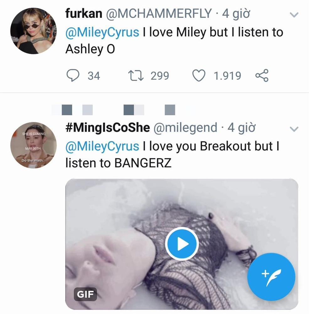 Miley Cyrus bị chế giễu thảo mai vì nói yêu Nicki Minaj nhưng lại thích nghe nhạc Cardi B-3