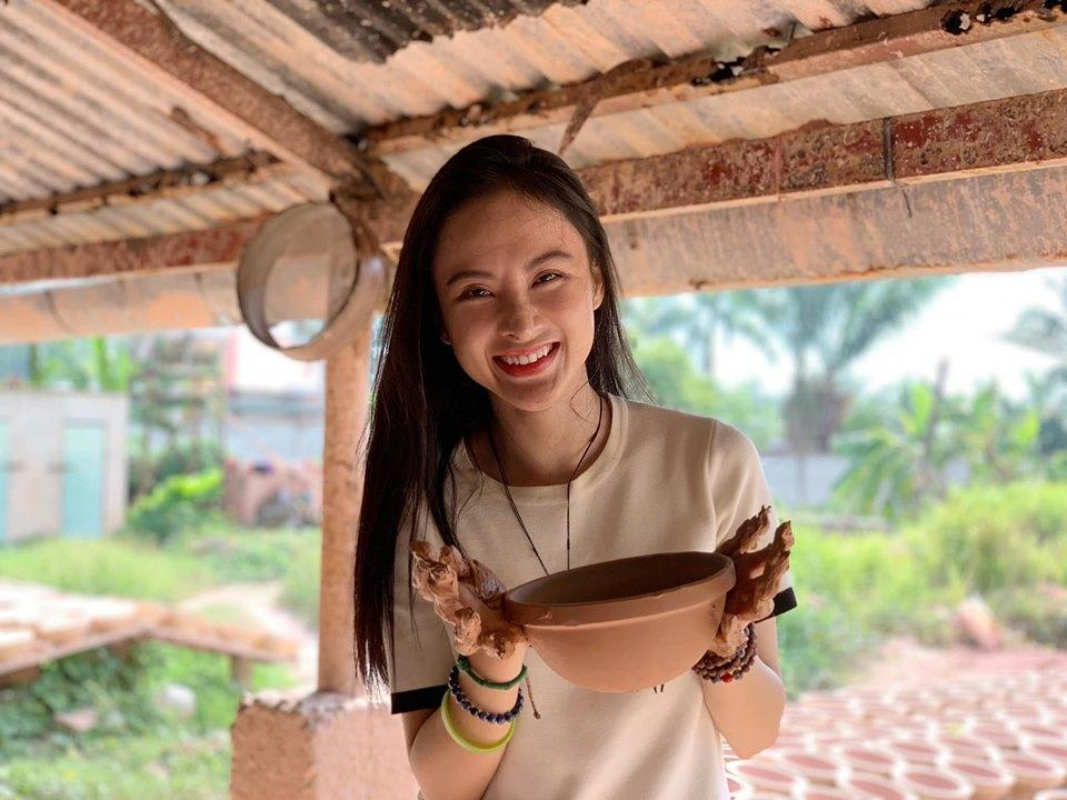 Lần hiếm hoi hoa hậu Đặng Thu Thảo thả thính tình yêu ngọt ngào-3