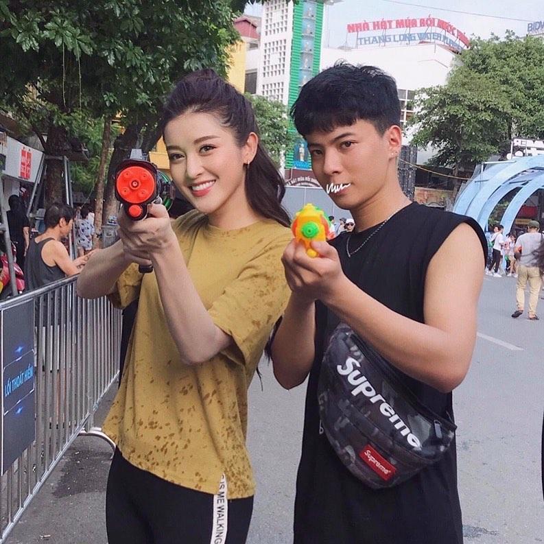 Lần hiếm hoi hoa hậu Đặng Thu Thảo thả thính tình yêu ngọt ngào-4