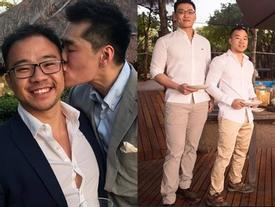 Xôn xao cháu trai cố Thủ tướng Singapore kết hôn với người tình đồng giới sau 6 năm yêu say đắm