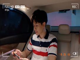 Học theo Diệu Nhi, Anh Tú cũng 'dắt túi' màn cover hit 'Yêu Được Không' cực ngọt ngay trong xe hơi
