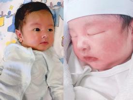 Lần đầu khoe cận mặt quý tử mới sinh, anh trai Bảo Thy khiến người xem xuýt xoa Cao Triết đẹp hết phần bố mẹ
