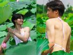 Đầu tuần đã nóng nực, dân tình lại phát rồ với bộ ảnh cô gái ở Hà Nội cởi sạch khoe thân dưới hồ sen-6