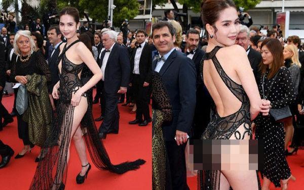 Bộ váy tai tiếng của Ngọc Trinh không hề lọt Top trang phục đẹp nhất Cannes trên tạp chí uy tín-1