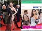 Bộ váy tai tiếng của Ngọc Trinh không hề lọt Top trang phục đẹp nhất Cannes trên tạp chí uy tín