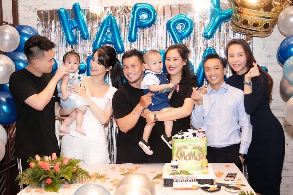 Nhiều bằng chứng cho hay Đàm Thu Trang đã mang thai với Cường Đô La trước khi làm đám cưới-1