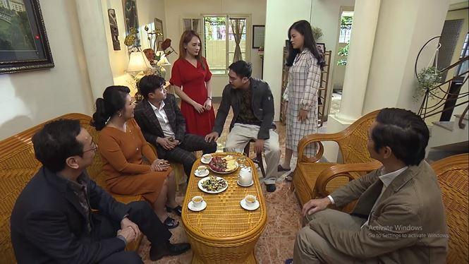 Khải say rượu đánh Huệ ngay trước mặt gia đình vợ trong tập 33 Về Nhà Đi Con-1