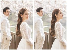 Ảnh cưới lãng mạn như phim Hàn của Dương Khắc Linh và Sara Lưu