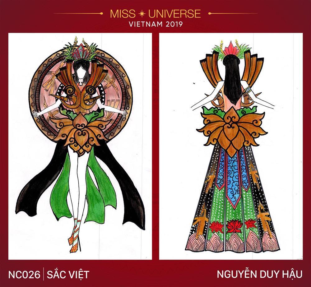 Hoàng Thùy cạn lời vì ý tưởng thiết kế trang phục truyền thống cho Miss Universe 2019 lấy cảm hứng từ... BÀN THỜ-16