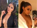 Hoa hậu vàng trong làng 'bị đá' mạnh dạn phanh áo khoe vòng 1 sexy nghẹt thở