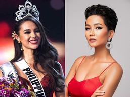 SHOCK: Catriona Gray sau nửa năm đăng quang Hoa hậu Hoàn vũ bị chê bai kém cả H'Hen Niê