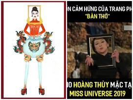 Đã phát hiện ra nguồn cảm hứng thiết kế trang phục dân tộc 'bàn thờ' giúp Hoàng Thùy thi đấu Miss Universe 2019