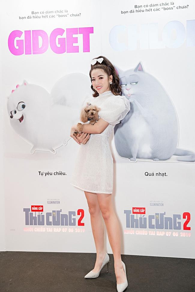 Puka, Jun Phạm 'đọ' vẻ đáng yêu của thú cưng khi dự ra mắt phim-1