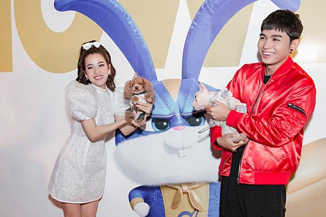 Puka, Jun Phạm 'đọ' vẻ đáng yêu của thú cưng khi dự ra mắt phim-5