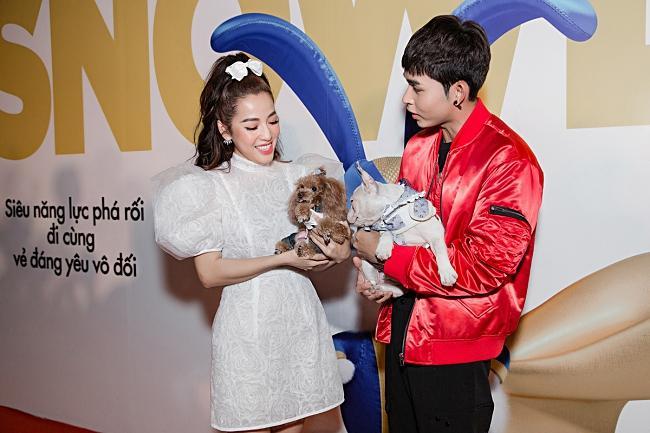 Puka, Jun Phạm 'đọ' vẻ đáng yêu của thú cưng khi dự ra mắt phim-6