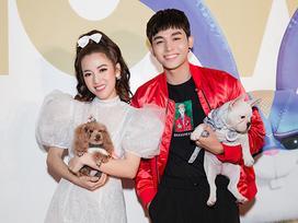 Puka, Jun Phạm 'đọ' vẻ đáng yêu của thú cưng khi dự ra mắt phim