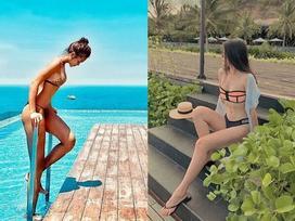 So độ nóng bỏng của Mâu Thủy và Phương Khánh khi cùng diện bikini