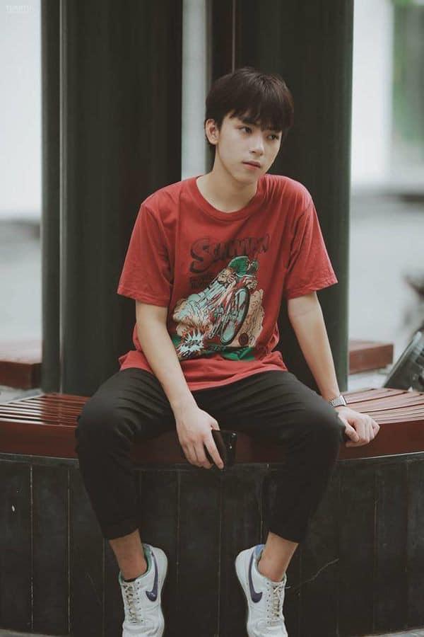 Đào mộ loạt ảnh thời chưa sửa mũi của Long Hoàng - chàng trai Việt duy nhất nghi vấn trúng tuyển SM Entertainment đình đám-1