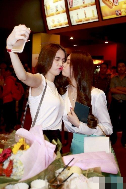 Linh Chi có thể thoải mái khóa môi cô gái này mà chẳng bao giờ phải lo Lâm Vinh Hải ghen tuông-3
