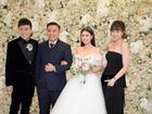 Trấn Thành và dàn sao hát ở tiệc cưới đạo diễn 'Cua lại vợ bầu'