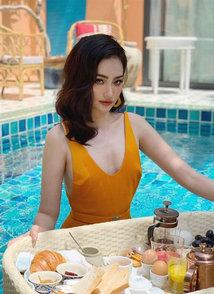 Hoa hậu Trúc Diễm lộ mặt đơ như vừa dao kéo, đến người thân cũng khó nhận ra giai nhân tuyệt sắc thuở nào-4