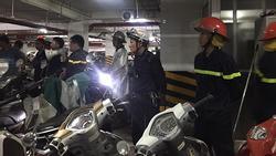 Cháy hầm chung cư nhưng chuông báo cháy không kêu, bảo vệ chặn xe cứu hỏa: Chủ đầu tư lên tiếng