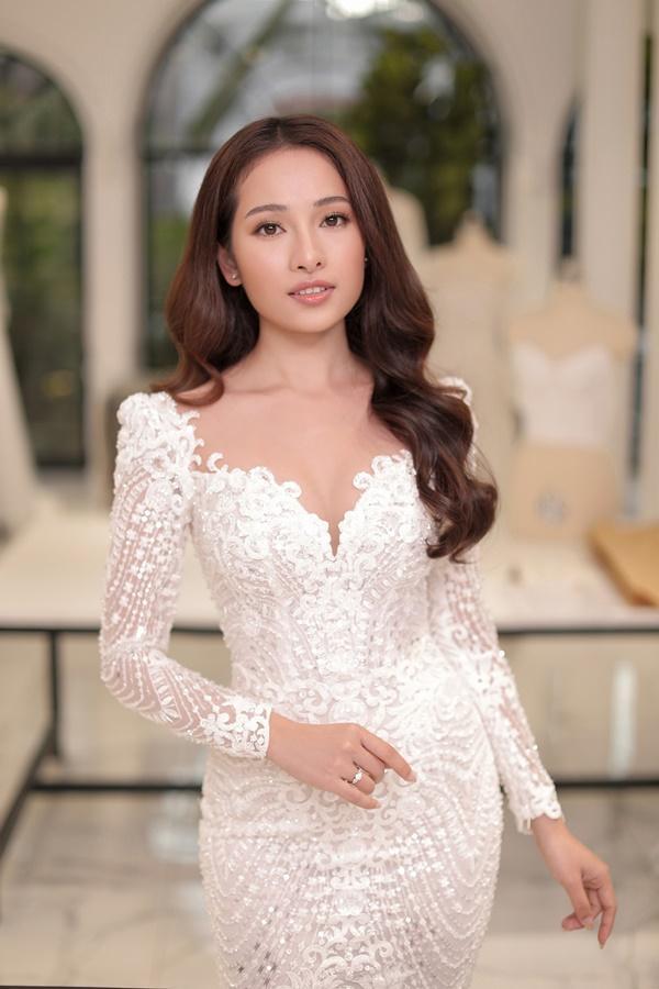 Cận cảnh chiếc váy cưới mà Sara Lưu sẽ mặc trong đám cưới với nhạc sĩ Dương Khắc Linh-3
