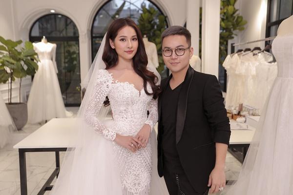 Cận cảnh chiếc váy cưới mà Sara Lưu sẽ mặc trong đám cưới với nhạc sĩ Dương Khắc Linh-7