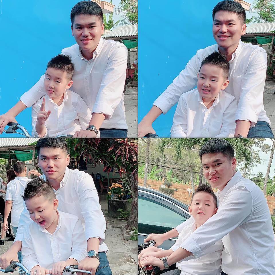 Con trai Lê Phương - Quách Ngọc Ngoan yêu thương cha dượng trẻ tuổi không khác gì cha đẻ-8