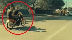 Clip: Quái xế coi tính mạng như cỏ rác, bốc đầu xe máy phóng vun vút khắp phố Hà Nội