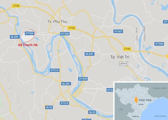 Hàng trăm cảnh sát vây bắt tên cướp ngân hàng mặc áo mưa ở Phú Thọ-3