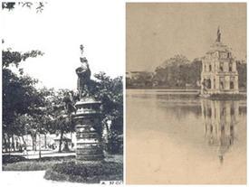 Chuyện về tượng 'Nữ thần Tự do' xuất hiện trên đường phố Hà Nội xưa