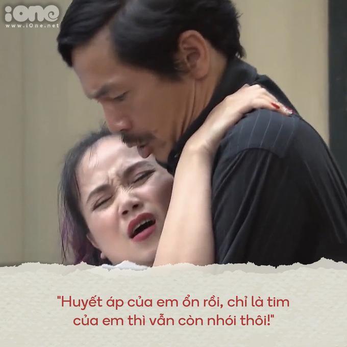 1.001 câu thoại chứng minh cô Xuyến là nữ hoàng thả thính trong Về nhà đi con-5