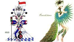 Quên 'bàn thờ' của Hoàng Thùy đi, đây mới là trang phục dân tộc khiến fan sắc đẹp nháo nhào