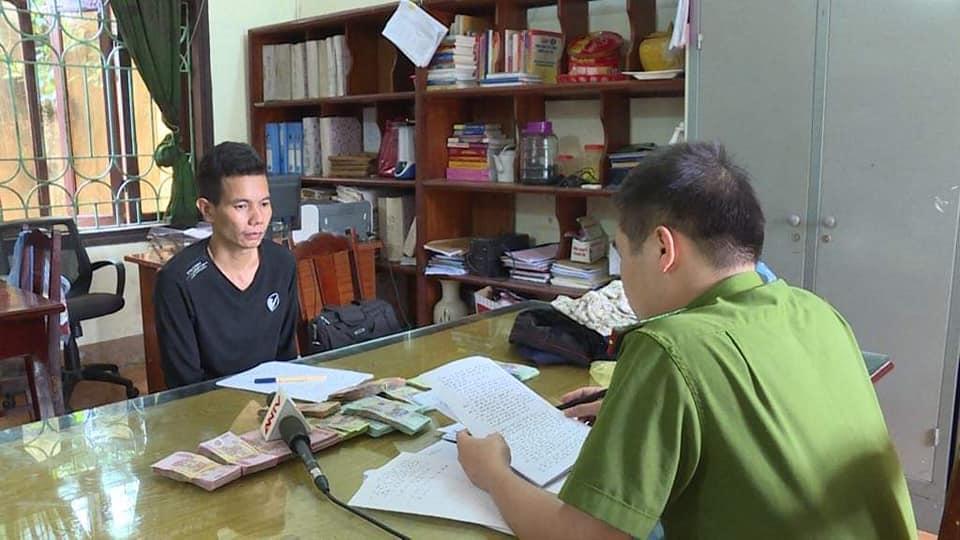 Vụ cướp ngân hàng ở Phú Thọ: Nghi phạm là người lêu lổng, lười làm-1