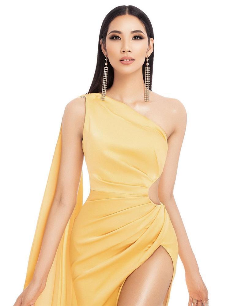 Bản tin Hoa hậu Hoàn vũ 3/6: Cùng để tóc ép thẳng nhưng vẻ đẹp Hoàng Thùy bỗng nhiên tắt lịm khi đặt cạnh Olivia Culpo-2